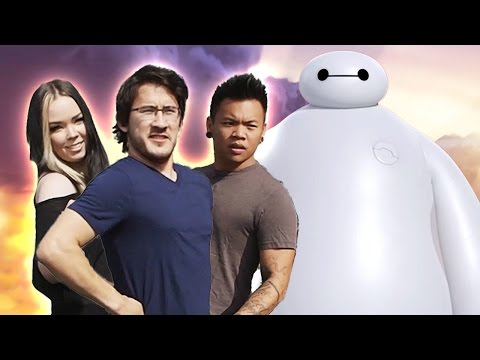 hero - Thanks to Disney Animation for partnering with me on this video! Big Hero 6 in theaters in 3D November 7 http://fandan.co/1sYniED ANOTHER Sketch! ▻ http://youtu.be/1xh1X9ooREA A THIRD Video?