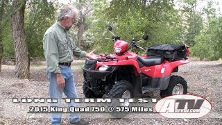 8. ATV Television - 2015 Suzuki King Quad 750 Long Term Test Video
