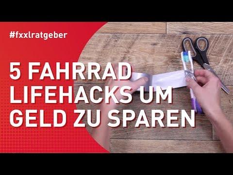 5 Fahrrad Lifehacks um Geld zu sparen - #fxxlkurzerklärt