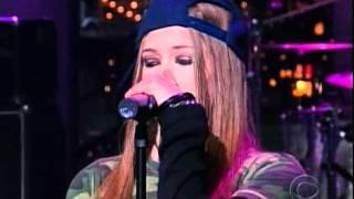 Video Avril Lavigne - Sk8erboi - Live @ Late Show with David Letterman [2002.10.01] MP3, 3GP, MP4, WEBM, AVI, FLV Juli 2018