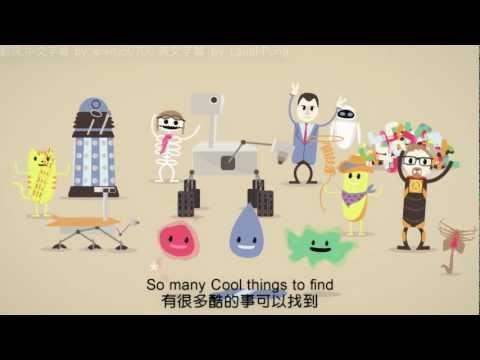 超可愛的卡通告訴你生活中很酷的事!