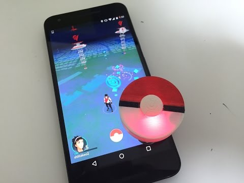 網友自製 Pokémon Go Plus 寶可夢通知 遊戲連動的裝置