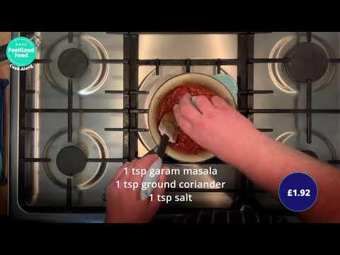 FeelGood Cook-Along: Homemade Veg Biryani for under £5