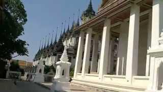 バンコク市内観光ワットラーチャナダー
