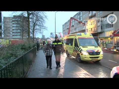 10 gewonden en 5 zwaargewonden bij flatbrand Nijmegen
