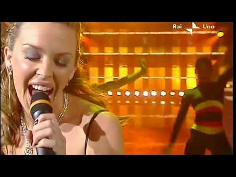 Kylie Minogue - In your eyes Live Sanremo - Italy - 09-03-2002