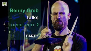 Full article with more videos and photos on Drummerszone:http://drummerszone.com/news/article/on-stage-6-13549/benny-greb-talks-grebfruit-2- Benny Greb talks Grebfruit 2 -We interviewed Benny Greb on the day he premiered Grebfruit 2 live at the Meinl Drum Festival in Gutenstetten, Germany. He released 'Grebfruit 2' on July 21, 2017. Watch the full interview with Benny Greb here:The topics covered in Part I of this interview:1. Playing Grebfuit 2 for the first time live2. How the '2' relates to the first Grebfruit album3. and Benny talks about the creative process when writing and recording the albumBenny Greb plays Meinl Cymbals and Percussion, Sonor drums, Remo drumheads and Vic Firth drum sticks.Benny Greb on Drummerszone:http://drummerszone.com/artists/profile/7984/benny-grebBenny Greb's 'Grebfruit 2' video channel on Drummerszone:http://drummerszone.com/videos/channel/dz-9756-11579/grebfruit-2Meinl Drum Festival 2017On July 1st, 2017, Meinl held their annual Meinl Drum Festival on the company's premises in Gutenstetten, Germany.Artists performing the 2017 edition were:- Benny Greb - Alex Rudinger - Arthur Hnatek - drescHHeads: Simon Gattringer and Max Groesswang- Aric Improta - Miguel Lamas - Luke Holland - Chris Coleman - Anika Nilles featuring NevellFollow Drummerszone on:YouTube: https://www.youtube.com/drummerszoneTwitter: https://twitter.com/drummerszoneFacebook: https://www.facebook.com/drummerszoneInstagram: https://www.instagram.com/drummerszoneBeat your heart out!http://drummerszone.comVisit our live Drummer Index:http://drummersocial.com
