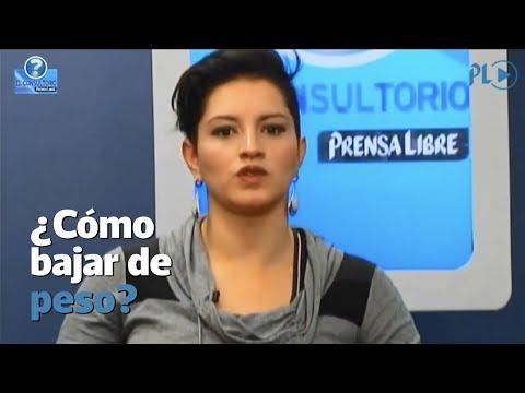 El Consultorio  ¿Cómo bajar de peso? Entrevista a la nutricionista Amelia Campos  Prensa Libre