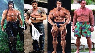 Video Arnold Schwarzenegger Vs Sylvester Stallone Transformation ★ 2018 MP3, 3GP, MP4, WEBM, AVI, FLV Juli 2018