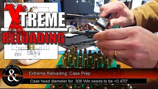Taking time to prepare your cases can and will pay dividends when you head out to the range.  This episode of Extreme Reloading focuses on case prep for the Ruger Precision Rifle in .308 Win. Of course, these tips can help any shooter regardless of rifle or caliber.Links noted in the video:Dropbox link for checklist: https://www.dropbox.com/s/g8mc76qs6s156vu/Reloading%20check-off%20sheets.xlsx?dl=0Case head separation: https://youtu.be/dppyuA0lmYUPrimer pocket prep and flash holes: https://youtu.be/RQBx6F4cZRE