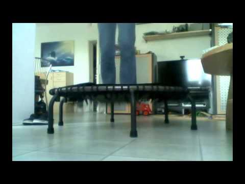 Trampolin Test - Jumpsport Swing Fitness Trampolin 570 Pro