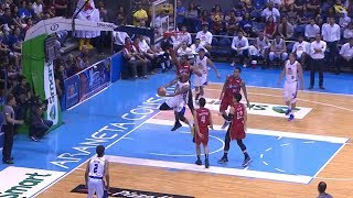 What a reverse shot by Romeo Travis! | PBA Governors' Cup 2018 Finals