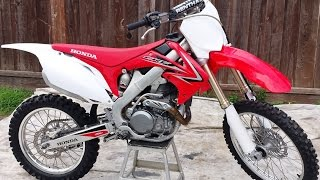 7. 2009 Honda CRF450R For Sale Immaculate