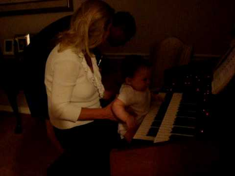 Gracie Playing th Piano