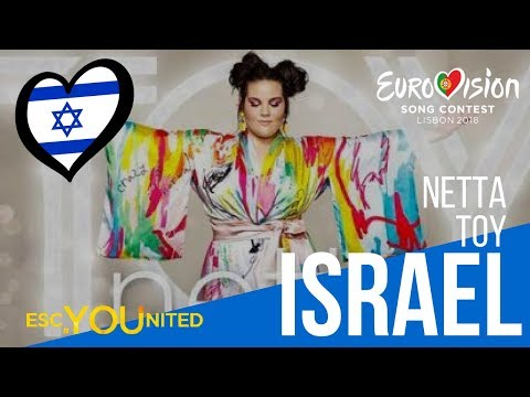 Israel: Netta - Toy (Reaction Video) Eurovision 2018