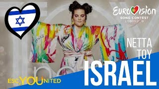 Video Israel: Netta - Toy (Reaction Video) Eurovision 2018 MP3, 3GP, MP4, WEBM, AVI, FLV Maret 2018
