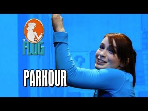 Felicia Day zkouší parkour
