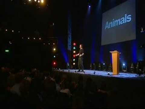 Ricky Gervais Animals show part 1 of 8