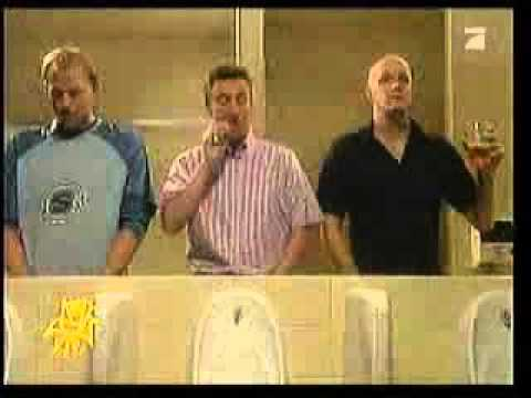 3 men in a toilet banned advert FUNNY!