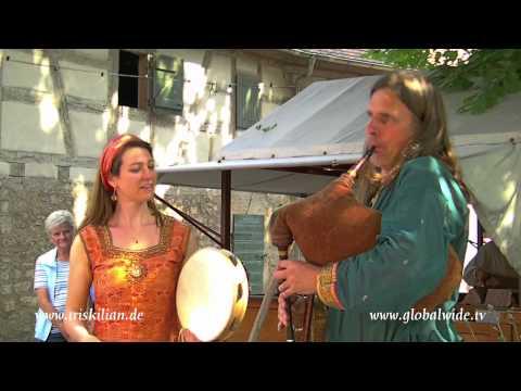 Mittelalter-Folkband Triskilian auf Burg Neuhaus (Spectaculum et Gaudium) 2012
