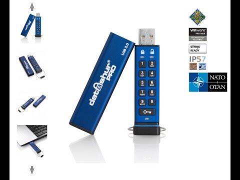 iStorage datAshur Pro USB 3.0 Flash Drive Unboxing Review