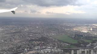 Incredible London Scenery Landing At London Heathrow