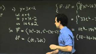 Line Integrals: Path Dependence | MIT 18.02SC Multivariable Calculus, Fall 2010
