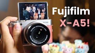 Video Fujifilm X-A5 first impressions MP3, 3GP, MP4, WEBM, AVI, FLV Juli 2018