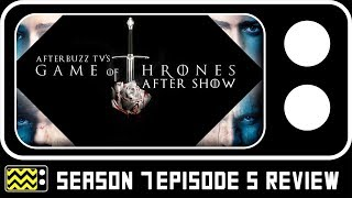 """Hosts discuss Game of Thrones for the episode """"Eastwatch."""" AFTERBUZZ TV -- Game of Thrones edition, is a weekly """"after show""""..."""