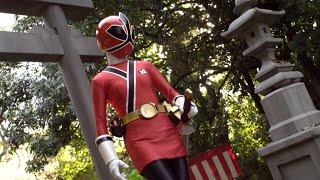 Enter Lauren Shiba, Female Red Ranger!