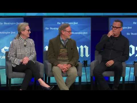 'The Post': Steven Spielberg, Meryl Streep, Tom Hanks talk new movie - FULL PANEL