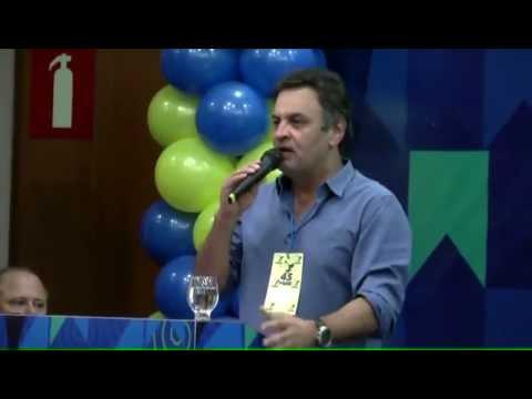 Aécio Neves – Conclamação aos militantes do PSDB