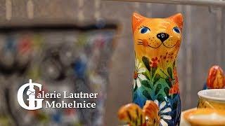 Galerie Lautner: Keramika Maříž a obrazy P. A. Taťouna