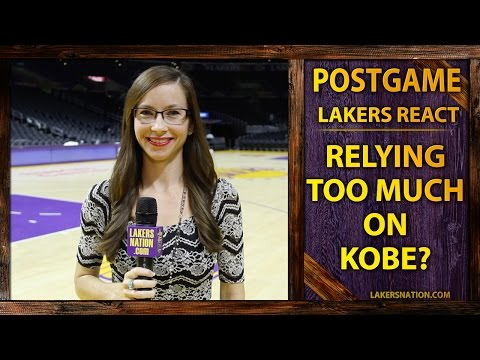 Video: Lakers Reaction: Relying On Kobe Too Much Instead Of Sharing The Ball?
