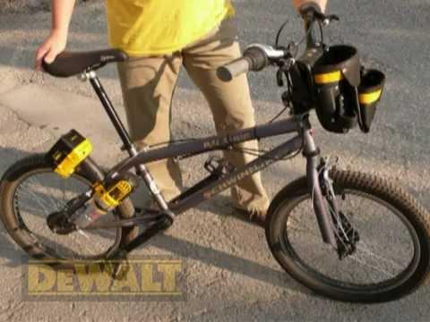 Велосипед из шуруповерта своими руками 17