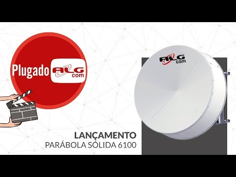 6100 Parabolic Shielded Antenna - Frequency 6.1 GHz