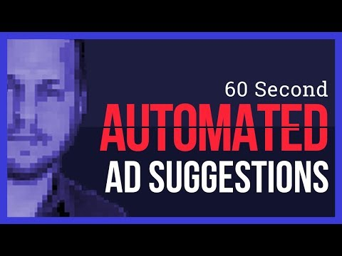 Watch 'Warning ⚠️ Auto Ad Suggestions Are Going Live!'