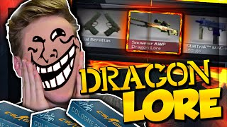 WE TRY AND UNBOX THE LEGENDARY DRAGON LORE!? ❱ Subscribe for more! - https://goo.gl/ymW20I TROLLED BY VALVE:...