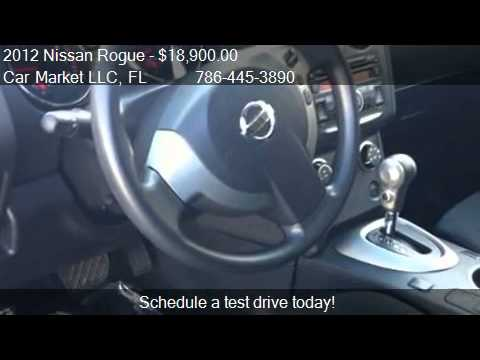 2012 Nissan Rogue S 2WD – for sale in Miami, FL 33172