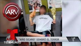 Revelan nuevos detalles del niño sicario en Colombia | Al Rojo Vivo