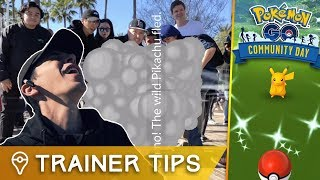 NEVER DO THIS WITH YOUR SHINY POKÉMON... Pokémon GO Community Day: Long Beach, CA by Trainer Tips