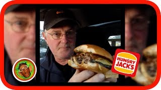 Hungry Jacks (Burger King) in Australia, have several Grill Masters range burgers. In this review I taste test the Angus Bacon & CheesePlease Share :)#tastetest #foodiehttps://www.hungryjacks.com.auHungry JacksBurger King, often abbreviated as BK, is a global chain of hamburger fast food restaurants headquartered in unincorporated Miami-Dade County, Florida, United States. The company began in 1953 as Insta-Burger King, a Jacksonville, Florida-based restaurant chain. After Insta-Burger King ran into financial difficulties in 1954, its two Miami-based franchisees, David Edgerton and James McLamore, purchased the company and renamed it Burger King. Over the next half century, the company would change hands four times, with its third set of owners, a partnership of TPG Capital, Bain Capital, and Goldman Sachs Capital Partners, taking it public in 2002. In late 2010, 3G Capital of Brazil acquired a majority stake in BK in a deal valued at US$3.26 billion. The new owners promptly initiated a restructuring of the company to reverse its fortunes.At the end of fiscal year 2012, Burger King reported it had almost 12,700 outlets in 73 countries; of these, 66 percent are in the United States and 95 percent are privately owned and operated with its new owners moving to an entirely franchised model by the end of 2013. BK has historically used several variations of franchising to expand its operations. The manner in which the company licenses its franchisees varies depending on the region, with some regional franchises, known as master franchises, responsible for selling franchise sub-licenses on the company's behalf. Burger King's relationship with its franchises has not always been harmonious as happened with Hungry Jacks in Australia. Occasional spats between the two have caused numerous issues, and in several instances the company's and its licensees' relations have degenerated into precedent-setting court cases.NEW VIDEOS EACH WEEKSend Me Stuff To Test!CHECKOUT THE FOODIE PL