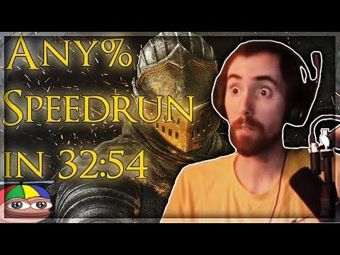 Asmongold Reacts To Dark Souls Remastered Speedrun - Any% In 32:54 IGT (World Record) By Elajjaz