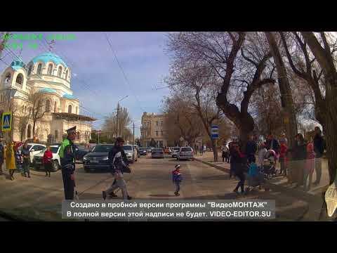 Пешеходы в Евпатории против ...