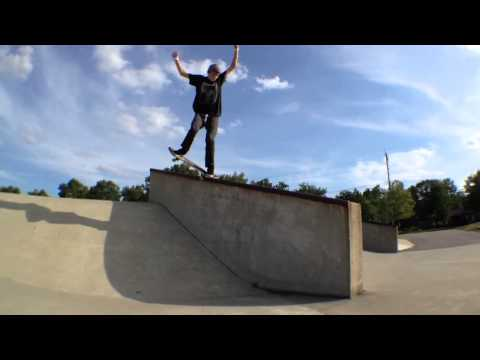 One Man Skate Park Destroyer!