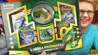 Opening A Mega Rayquaza Collection Box - Pokemon TCG Unboxing ▻ How to send me stuff! → http://bit.ly/how2sendmestuff...