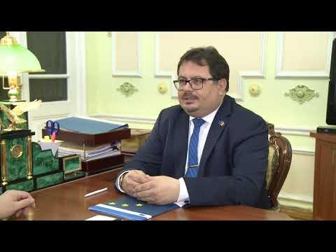 Igor Dodon a avut o întrevedere cu șeful delegației UE