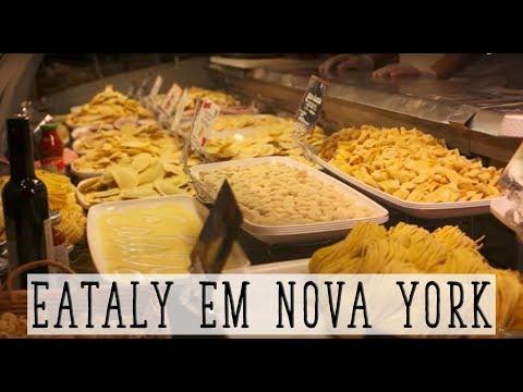 EATALY FAMOSO MERCADO ITALIANO EM NOVA YORK I NY