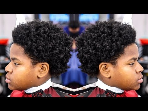 *TRANSFORMATION* HIGH TAPER  FLARED OUT  NAPPY STYLE HAIRCUT