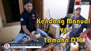 Video Gemantung Roso cover Kendang Manual vs Yamaha DTX MP3, 3GP, MP4, WEBM, AVI, FLV Desember 2018
